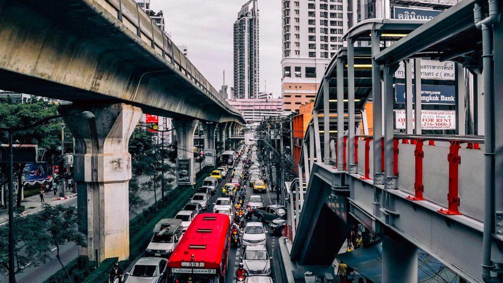 Работа в Таиланде, Бангкок